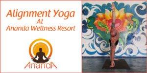 Alignment Yoga at Ananda Wellness Resort